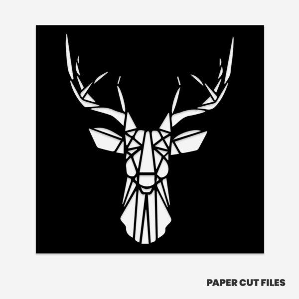 Geometric deer set 2/2
