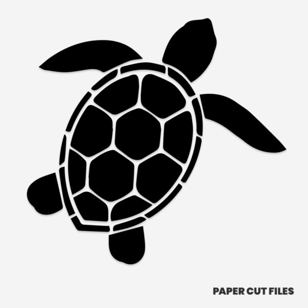 Turtle clipart - SVG PNG paper cutting templates